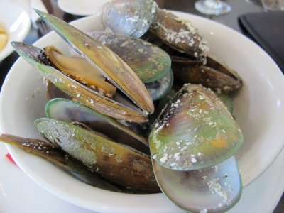 Green Shell Mussels, Havelock