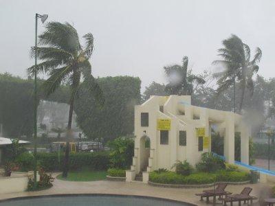 Wind and rain