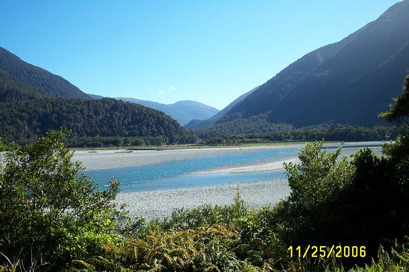 Drive through Scenic Haast Pass
