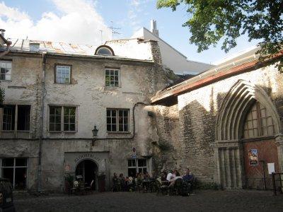 Yard in Tallinn