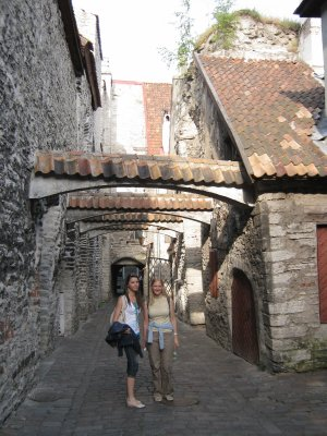 St.Catherine's Passage in Tallinn