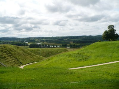The hillforts in Kernave