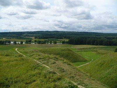 Hillforts in Kernave
