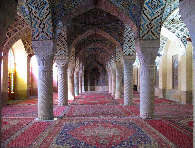 Pink Mosque, Shiraz