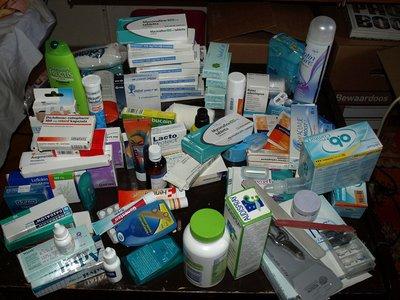 Medicine stack
