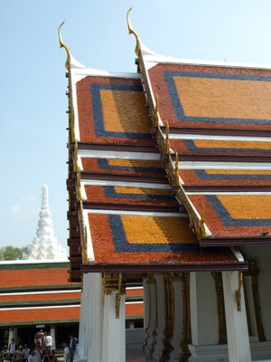 Wat Phra Kaew Roof Colours