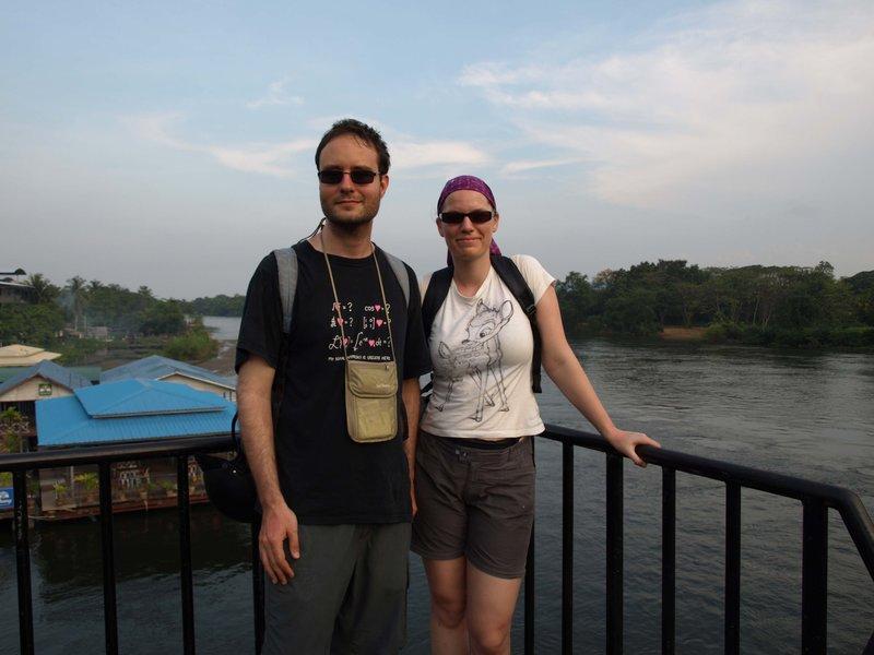 Together on the bridge