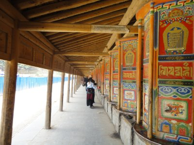 Labrang Monistry Kora path