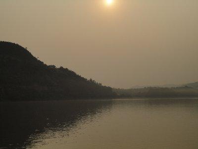 Langzhong sunset