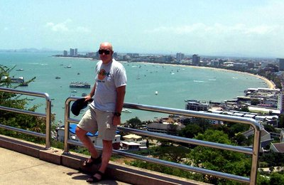 """Buddha Hill, overlooking Pattaya Bay"""