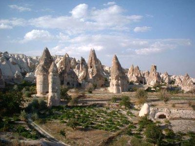 Hut formations - Goreme, Cappadocia