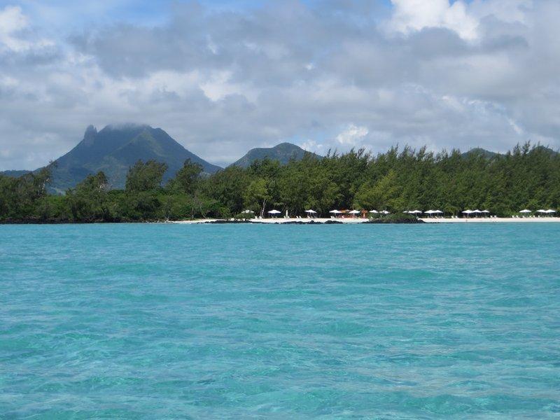 Mauritius vanaf de catamaran