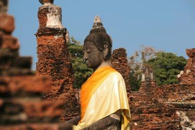 Buddha Dressed in Silk