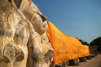 Reclining Buddha at Wat Lokayasutharam