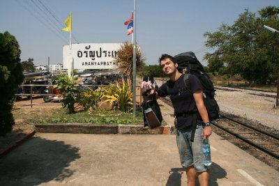 Last Stop on the Train Line in Thailand - Aranyaprathet