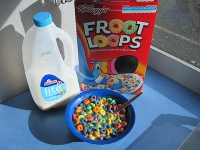 Froot Loops - including blue ones!
