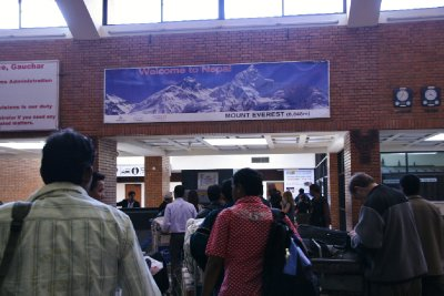 Welcome to Nepal the Home of Everest :D