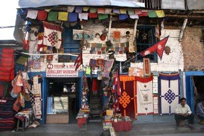 Curios Shop in Thamel