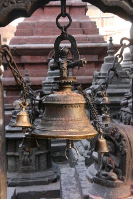 Prayer Bells at Monkey Temple