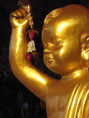 Golden Statue at the Standing Buddha