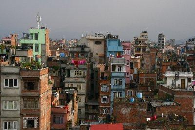 Vibrant City Scape