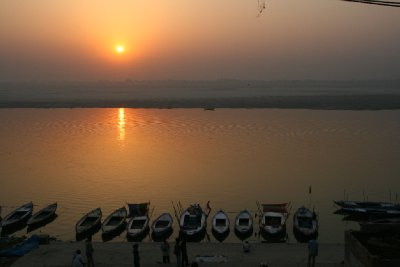 The Ganges at Sunrise 5.45am