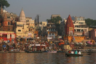 Gathering on the Ganges