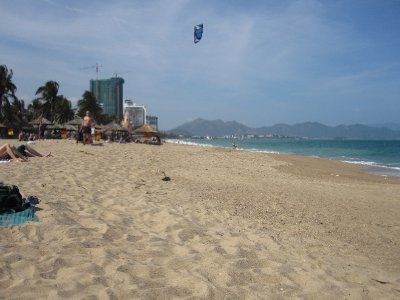 Kite Surfing on Nha Trang Beach