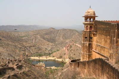 Lookout Towers at Amber Fort