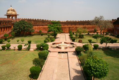 The Ladies Garden in Amber Fort