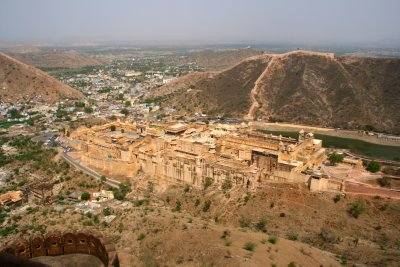 Spectacular Views From Amber Fort