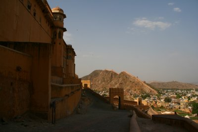 The Base of Amber Fort