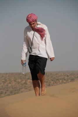 Ste in the Great Thar Desert