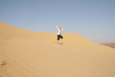 The dunes at the Great Thar Desert