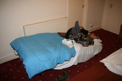 Collapsed 'See Saw' Bed