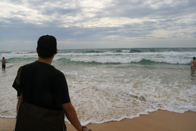 The Frothy Sea and Golden Sands of Karon