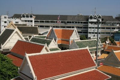 View From Wat Traimit