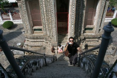 Vertical Stairs at Wat Arun