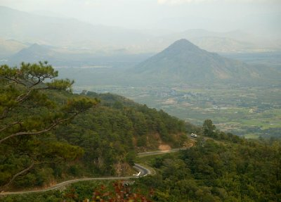 Dalat to Nha Trang Road