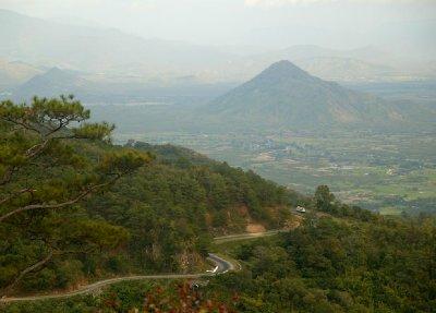 Dalat to Nha Trang Road