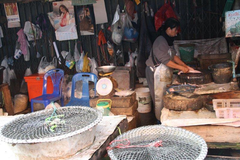 Fish Stall at the Market