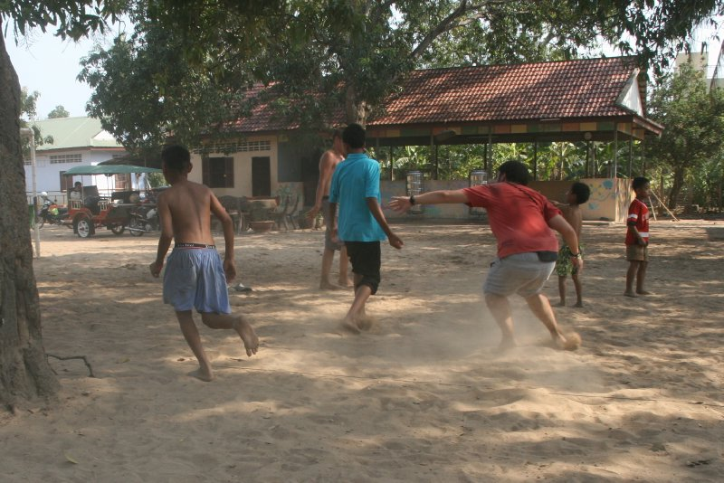 Football in the Dust