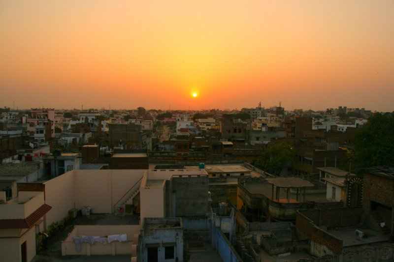 Sunset Over Varanasi