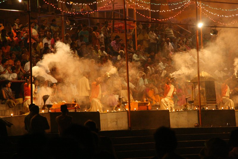 Ceremony by the Ganges
