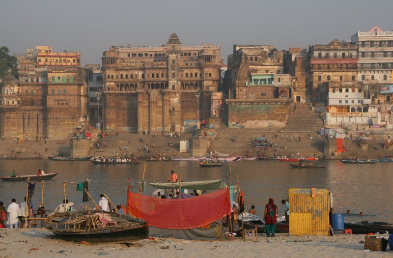 Varanasi Views from the Sand Dunes