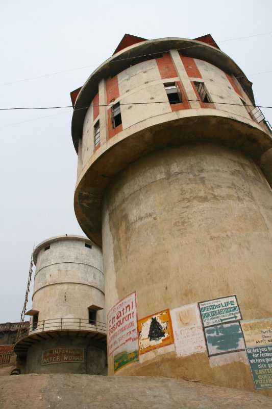 Water Tower by the Ganges