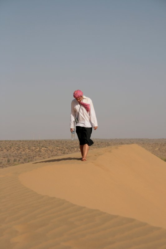 Stroll in the Sand at the Great Thar Desert