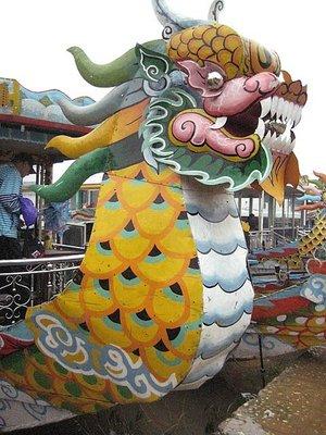 Dragon Boat in Hue