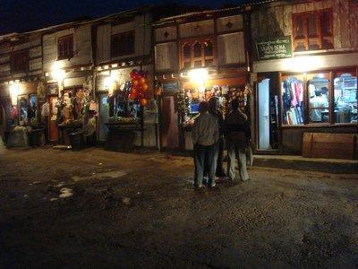 Wangdue street scene