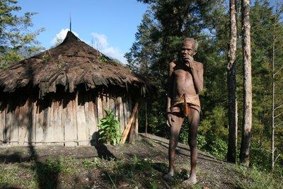 Old Yali man